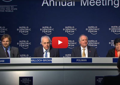 Davos 2016 – Press Conference: What can businesses do to support the SDGs?