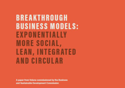 Breakthrough Business Models (BSDC)