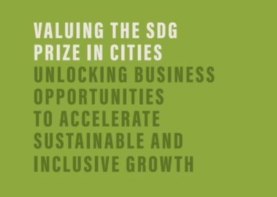 Valuing the SDG Prize  in Cities (BSDC)