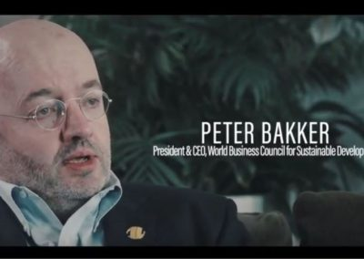 Peter Bakker – In era of low trust in business, realign with the right values