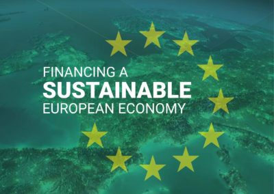 Financing a Sustainable European Economy