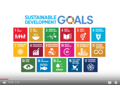 Video: Agriculture and the Sustainable Development Goals