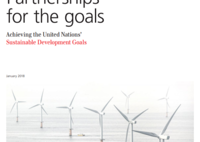 White Paper: Partnerships of the Goals
