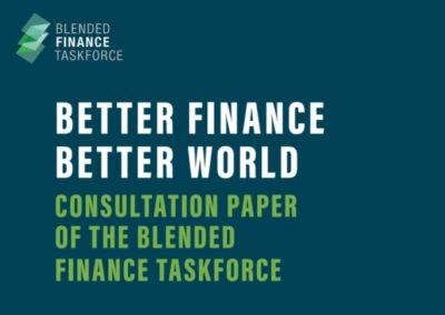 Better Finance, Better World