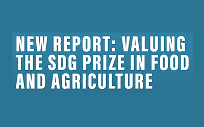 Business & Sustainable Development Commission releases report valuing SDG prize in food and agriculture