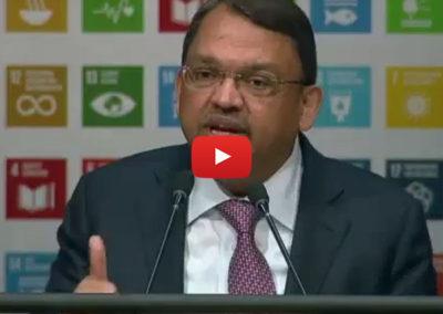Olam CEO addresses UN General Assmbley