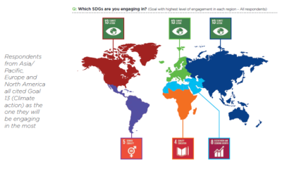 SDGs: The three most popular goals for business