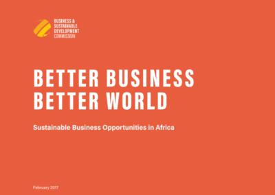 Better Business Better World: Africa