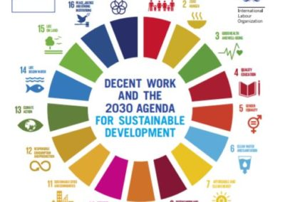 Decent work and the 2030 agenda for sustainable development