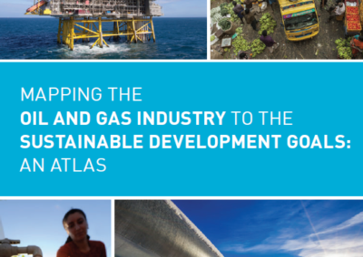 Mapping the oil & gas industry to the SDGs: An Atlas