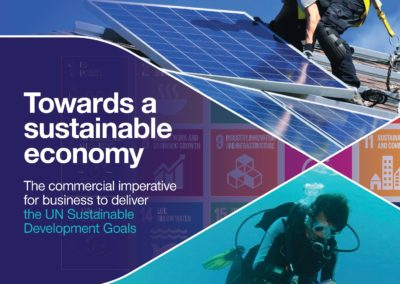 Towards a Sustainable Economy: The commercial imperative for business to deliver SDGs