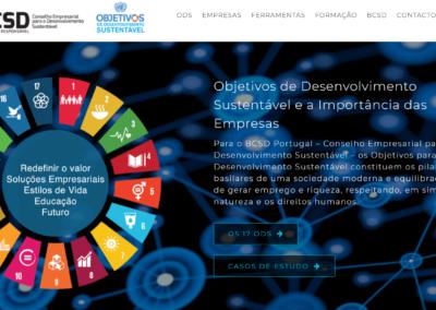 SDG Business HUB in Portuguese