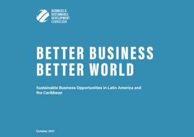 Better Business, Better World: Latin America and the Caribbean