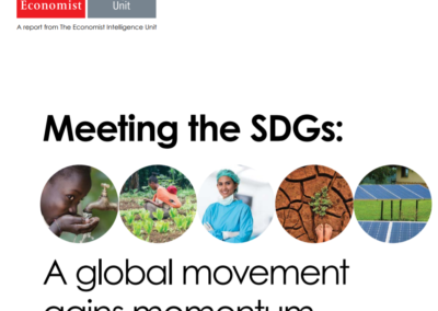 Meeting the SDGs: A global movement gains momentum