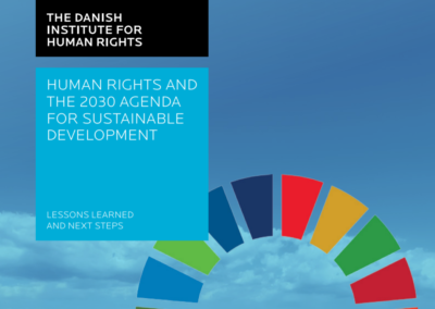 Human Rights and the 203 Agenda for Sustainable Development