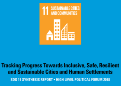 SDG 11 Synthesis Report – Sustainable Cities and Communities