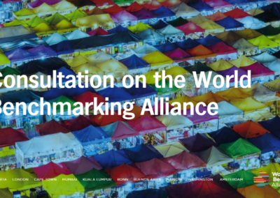 World Benchmarking Alliance – Final Consultation Publication