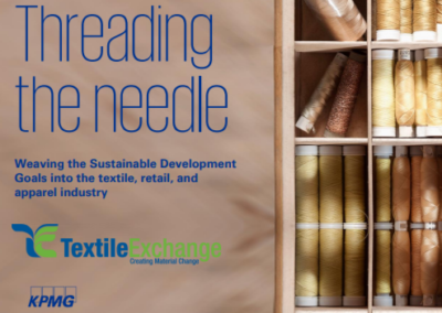 Threading the Needle: Weaving the Sustainable Development Goals into the Textile, Retail and Apparel Industry
