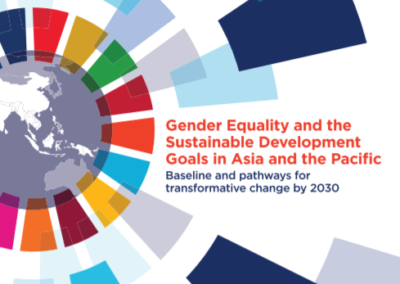 Gender Equality and the SDGs in Asia and the Pacific