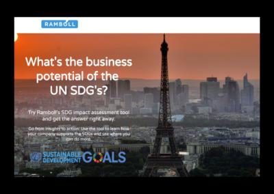 SDG Impact Assessment Tool