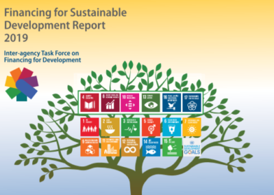 Financing for Sustainable Development Report 2019