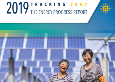 Tracking SDG 7: The Energy Progress Report 2019