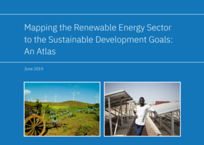 Mapping the Renewable Energy Sector to the Sustainable Development Goals: An Atlas