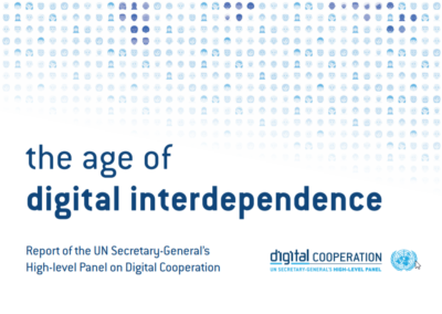 The Age of Digital Interdependence