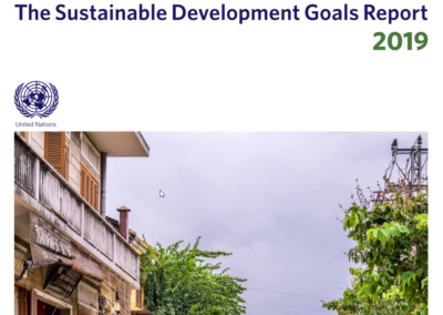 Sustainable Development Goals Report 2019