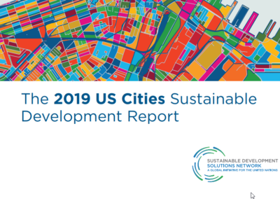 2019 US Cities Sustainable Development Report
