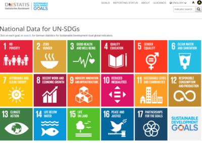 German National Reporting Platform on the SDG Indicators