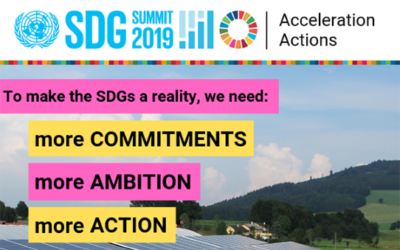 Call for SDG Acceleration Actions
