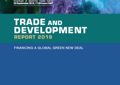Trade and Development Report 2019