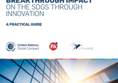 Framework for Breakthrough Impact on the SDGs through Innovation: A Practical Guide