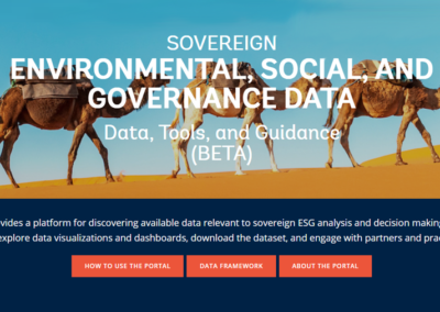 Sovereign ESG Data Portal