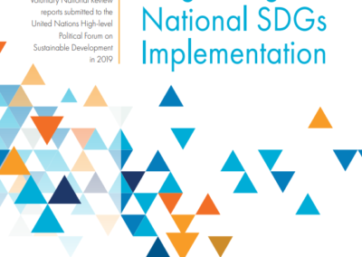 Progressing National SDG Implementation 2020