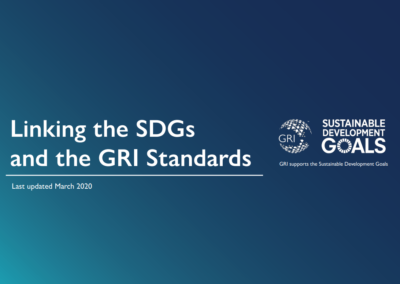 Linking the SDGs and the GRI Standards
