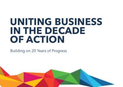 Progress Report: Uniting Business in the Decade of Action