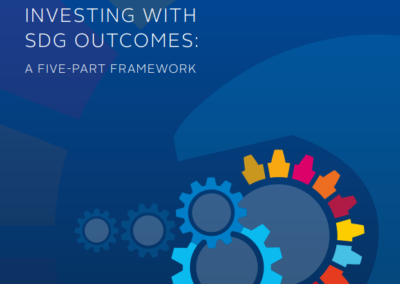 Investing with SDG outcomes: A five-part framework