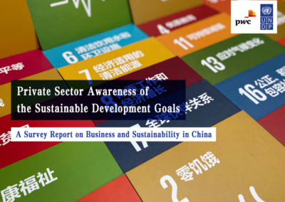 Private sector awareness of the SDGs: A Survey Report on Business and Sustainability in China