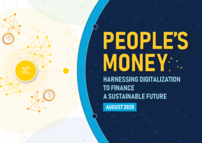 People's Money: Harnessing Digitalization to Finance a Sustainable Future