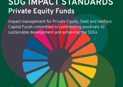 SDG Impact Standards for Private Equity Funds
