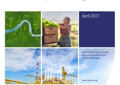 Accelerating action: An SDG Roadmap for the oil and gas sector