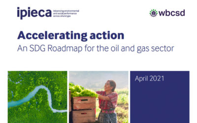 IPIECA and WBCSD launch SDG Roadmap for the oil and gas sector